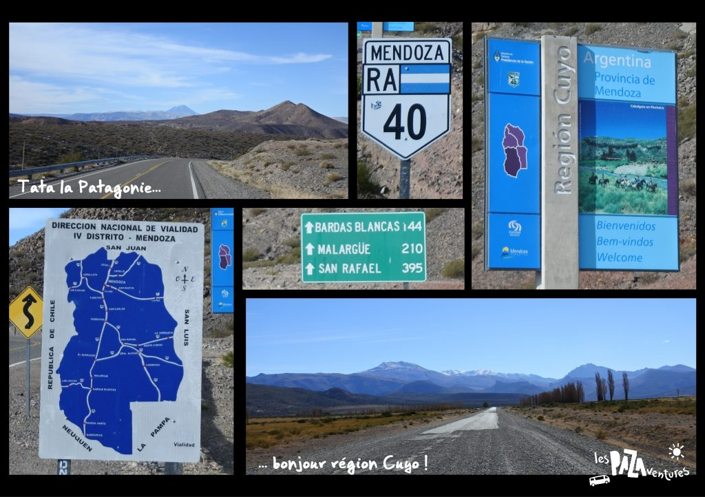 9 ruta 40, on quitte la patagonie