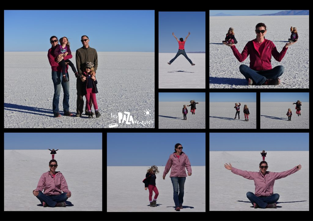 9 photos sur le salar