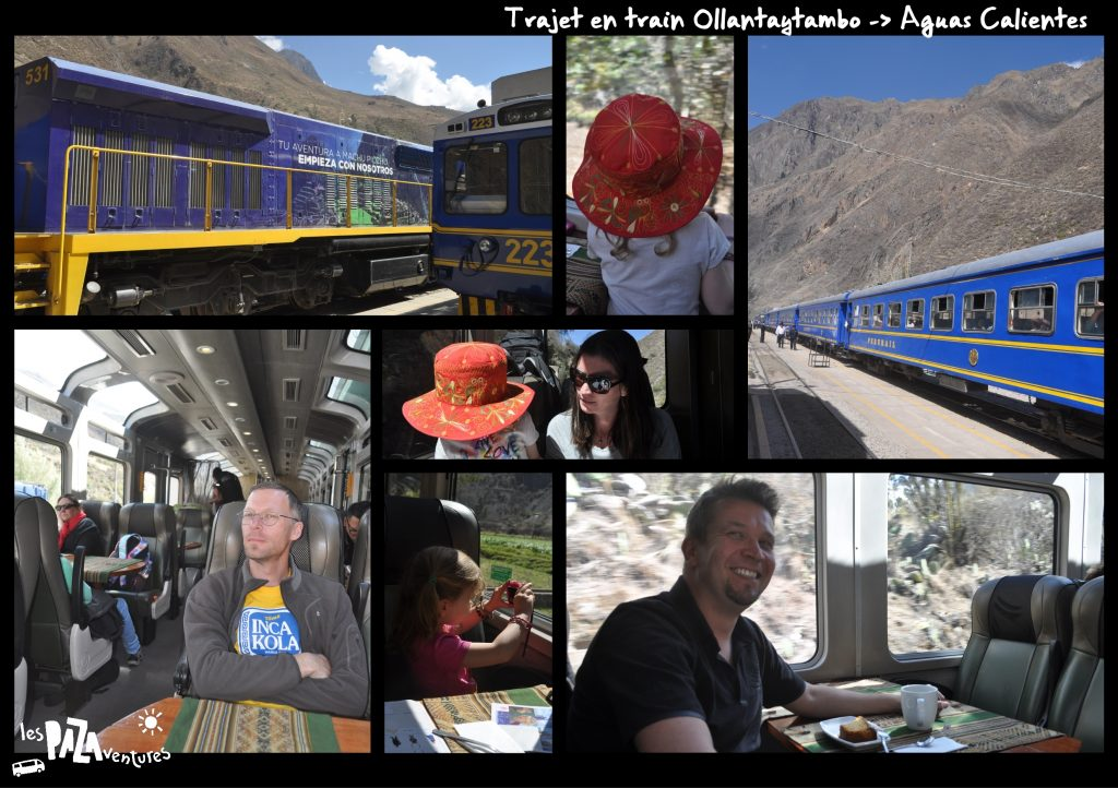 5 trajet en train ollantaytambo aguas calientes