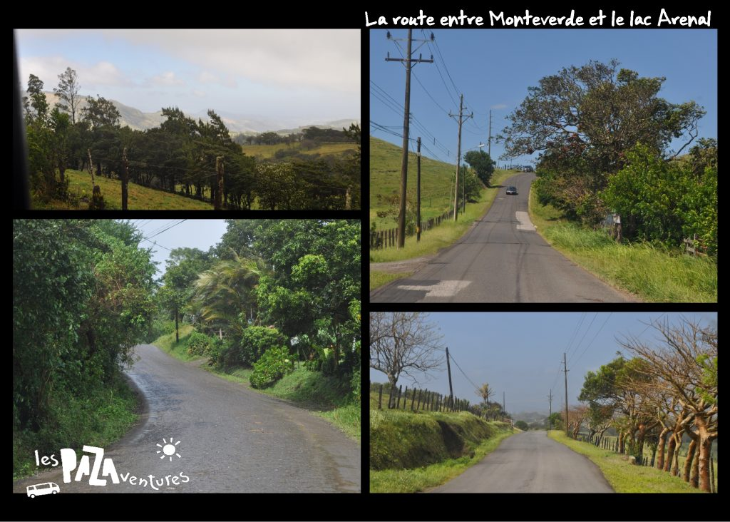 11 route monteverde arenal